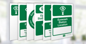 Alsco First Aid Eyewash Station Signs feature image