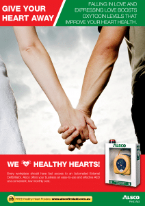 Heart Health Poster: Love Boost Oxytocin