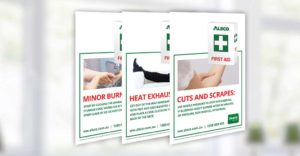Workplace First Aid Posters