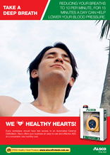 Healthy Heart Poster: Take a deep breath