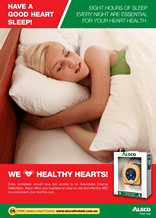 Healthy Heart Poster: Have a good sleep