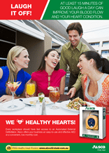 Healthy Heart Poster: Laugh it off