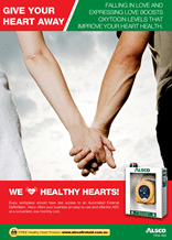 Heart Health Poster: Love Boost Oxytocin
