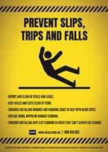 Always be careful when walking