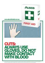 First Aid Poster Cuts